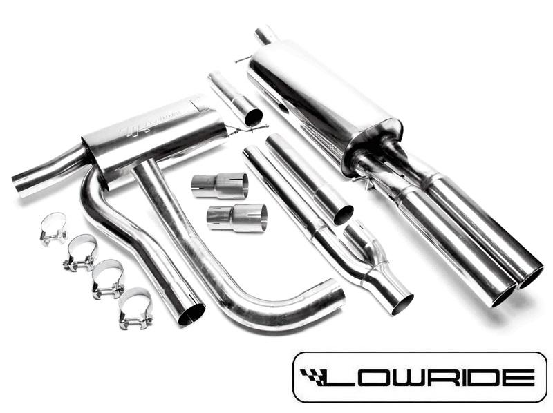 Audi A4 B5 Sportowy Układ Wydechowy 25cala Catback Lowride